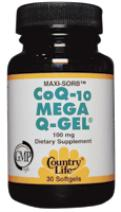 Picture of CoQ10 Mega Q-Gel