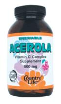 Picture of Acerola Chewables