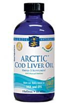 Picture of Artic Cod Liver Oil (Orange Flavor)