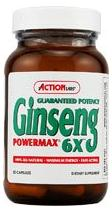 Picture of Action Ginseng 6x