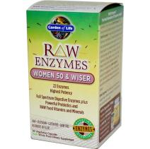Picture of Raw Enzymes Women 50 & Wiser